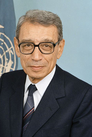 His Excellency, Dr. Boutros Boutros-Ghali